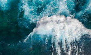 waves during daytime